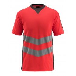 Mascot Safe Supreme Sandwell T-shirt - Hi-vis Red/dark Anthracite
