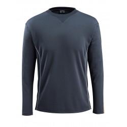Mascot Hardwear 50128 T-Shirt Long-Sleeved Dark Navy Hi-Vis Orange