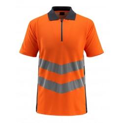 Mascot Safe Supreme Murton Polo Shirt - Hi-vis Orange/dark Navy