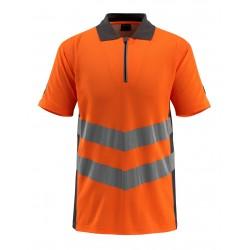Mascot Safe Supreme Murton Polo Shirt - Hi-vis Orange/dark Anthracite