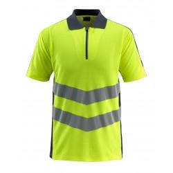 Mascot Safe Supreme Murton Polo Shirt - Hi-vis Yellow/dark Navy