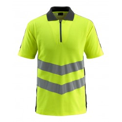 Mascot Safe Supreme Murton Polo Shirt - Hi-vis Yellow/black