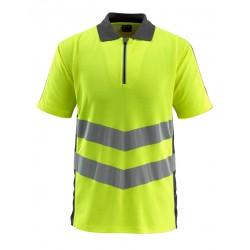 Mascot Safe Supreme Murton Polo Shirt - Hi-vis Yellow/dark Anthracite