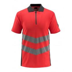 Mascot Safe Supreme Murton Polo Shirt - Hi-vis Red/dark Anthracite