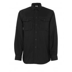 Mascot Crossover Hampton Shirt Black