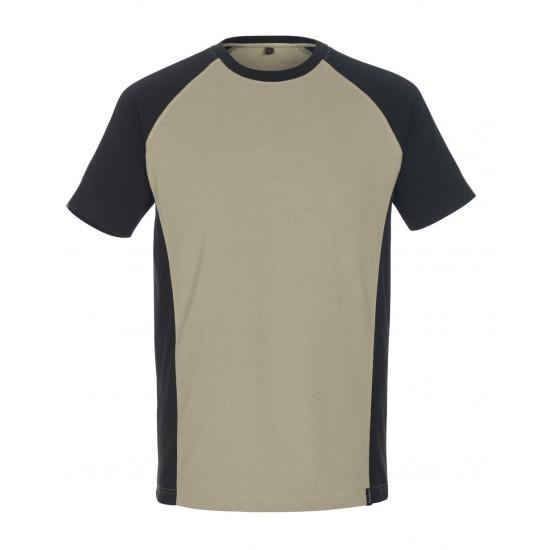 Mascot Safe Unique Potsdam T-shirt Light Khaki Black