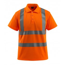 Mascot Safe Light Bowen Polo Shirt - Hi-vis Orange
