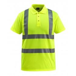 Mascot Safe Light Bowen Polo Shirt - Hi-vis Yellow