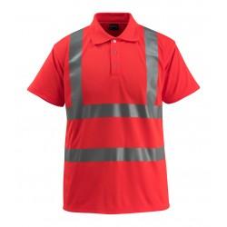 Mascot Safe Light Bowen Polo Shirt - Hi-vis Red