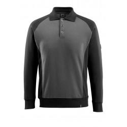 Mascot Safe Unique Magdeburg Polo Sweatshirt Dark Anthracite Black