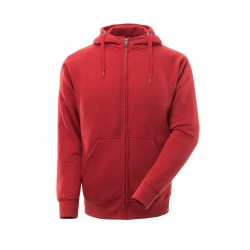 Mascot Crossover Gimont Hoodie With Zipper Red